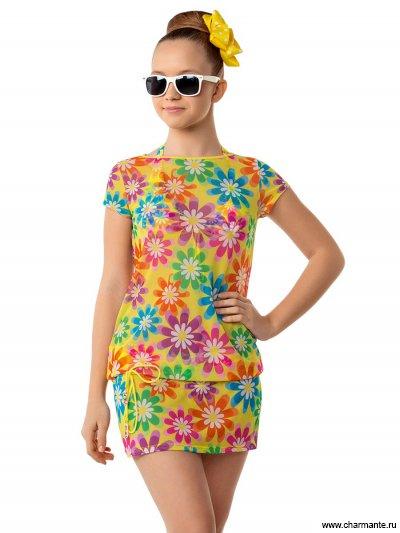Платье пляжное для девочек