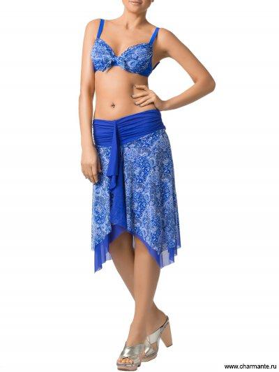 Купальник женский (бюст, плавки, юбка)