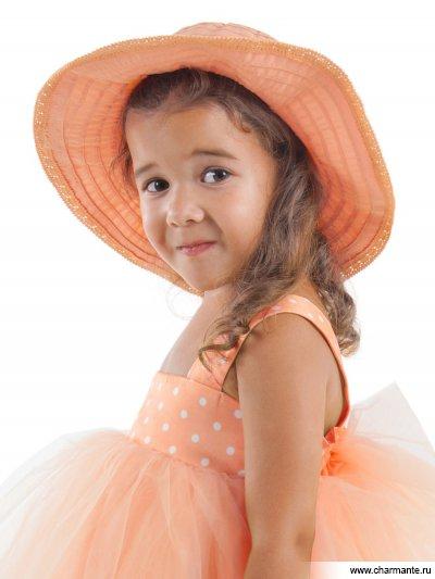Купить Шляпа детская HGAT107, Charmante, оранжевый