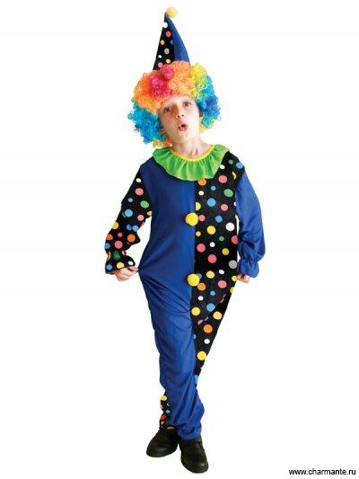 Костюм карнавальный для мальчиков (Клоун)