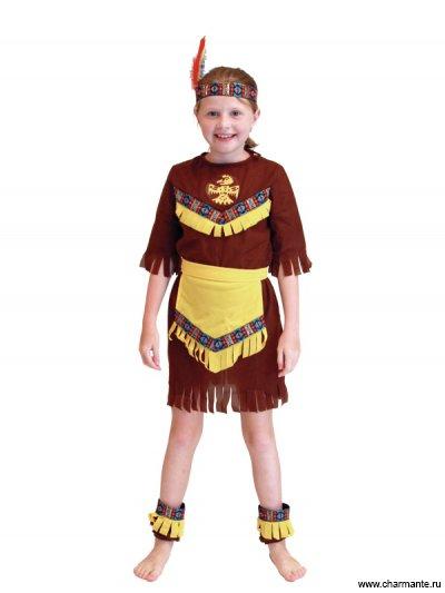 Костюм карнавальный для девочек (Индеец) Charmante GCH-1027
