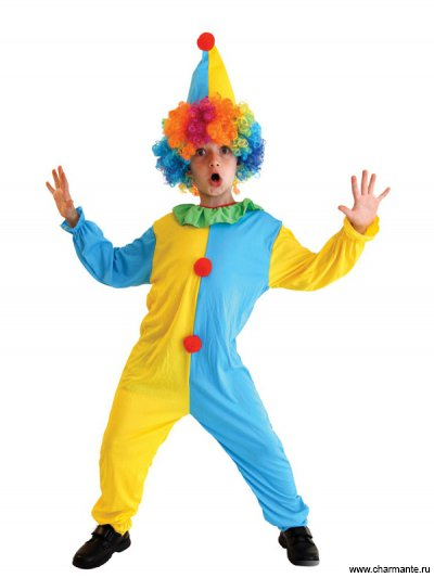 Костюм карнавальный для мальчиков (Клоун) Charmante BCH-1056A