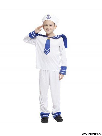Костюм карнавальный для мальчиков (Моряк матрос) лоскутникова любовь петровна сценарии детских утренников и праздников