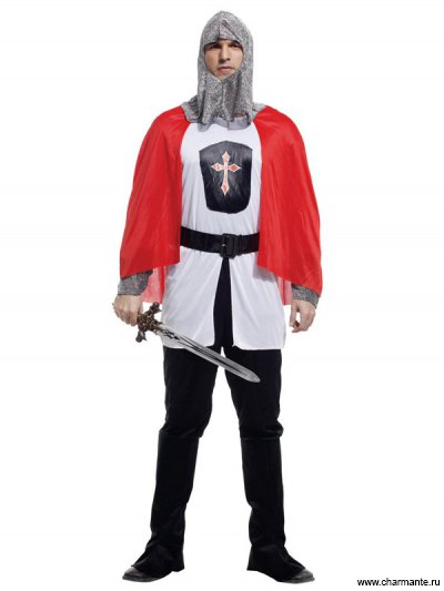 Костюм карнавальный для мужчин (Рыцарь)