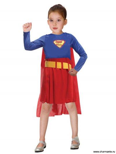 Костюм карнавальный для девочек (Суперменша) Charmante GCH-1155