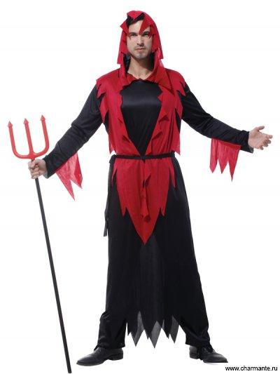 Костюм карнавальный для мужчин (Дьявол)