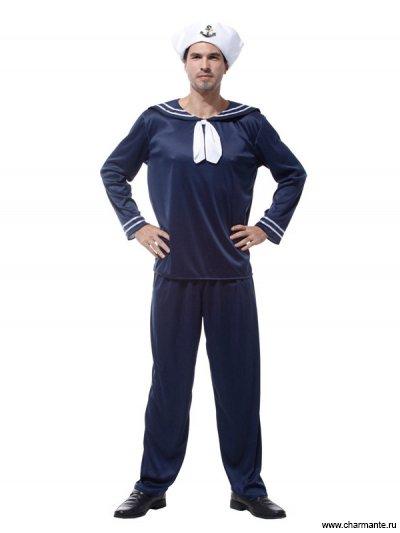 Костюм карнавальный для мужчин (Матрос-моряк)