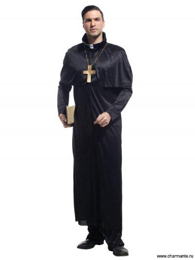 Костюм карнавальный для мужчин (Священник)