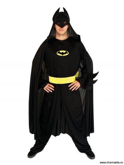 Костюм карнавальный для мужчин (Бэтмен)