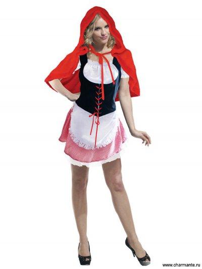 Костюм карнавальный для женщин (Красная шапочка)