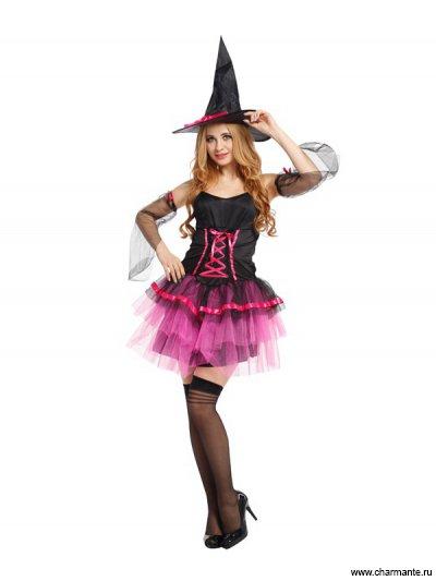 Костюм карнавальный для женщин (Ведьма)
