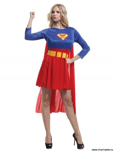 Костюм карнавальный для женщин (Суперменша)