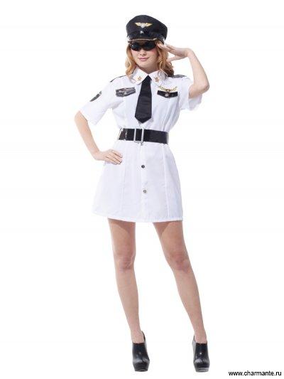 Костюм карнавальный для женщин (Летчик-капитан)