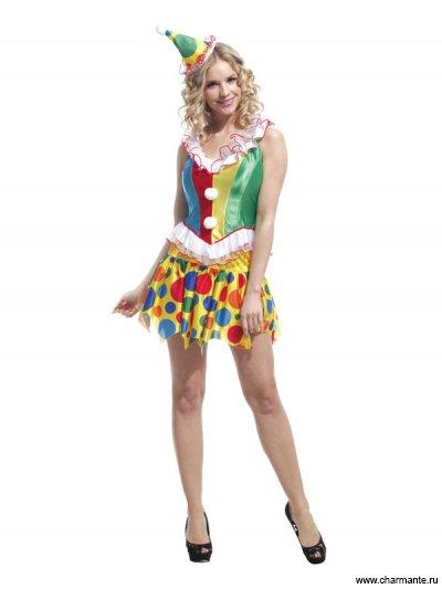 Костюм карнавальный для женщин (Клоун)