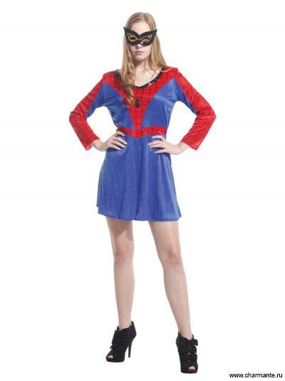 Костюм карнавальный для женщин (Человек-паук)