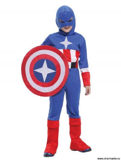 Костюм карнавальный для мальчиков (Капитан Америка) от Charmante