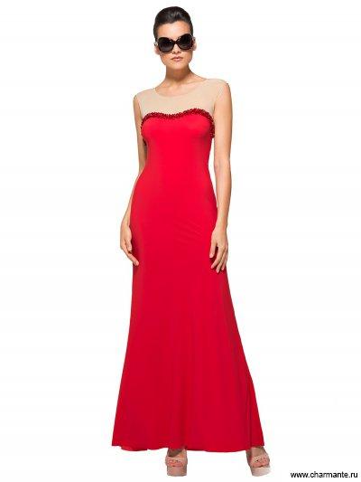 Купить Платье пляжное WQ041508 LG Anita, Charmante, красный