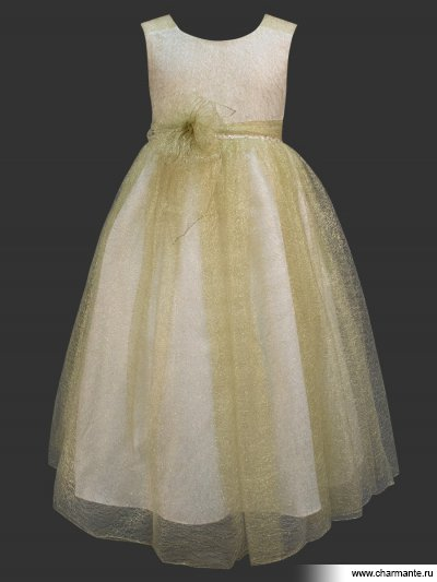 Платье праздничное для девочек + жилетка Charmante PSAK011201