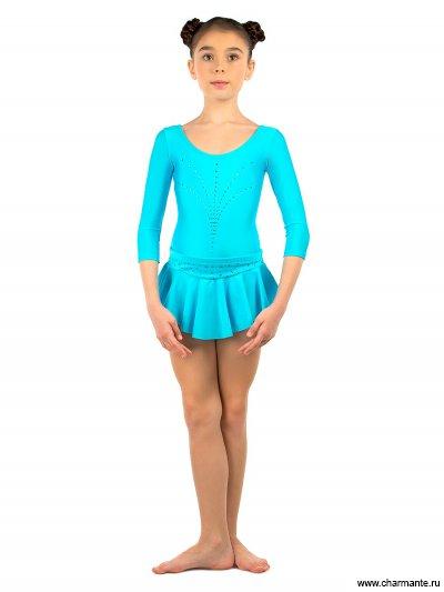 Купить Юбка спортивная для девочек SGY200831, Charmante, голубой
