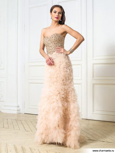 Платье женское Charmante D0280 LG Aurora