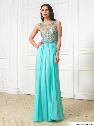 Купить Платье женское D8974 LG Galatea, Charmante, бирюзовый