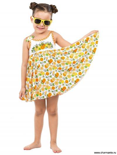 Купить Купальник для девочек GPQ 041605 Сitrus fresh, Charmante, мультиколор