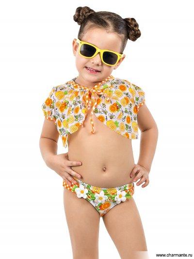Пляжное балеро для девочек
