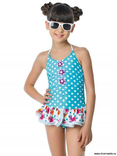 Купальник для девочек слитный Charmante GS 021604 Asolo