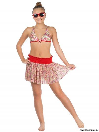 Купальник для девочек (бюст, плавки, юбка) Charmante YMU 131606 Imani
