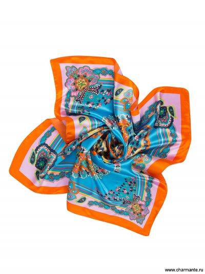 Купить Платок женский NEPA253, Charmante, бирюзовый