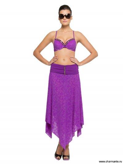 Купить Юбка пляжная WU 021607 LG Sima, Charmante, фиолетовый