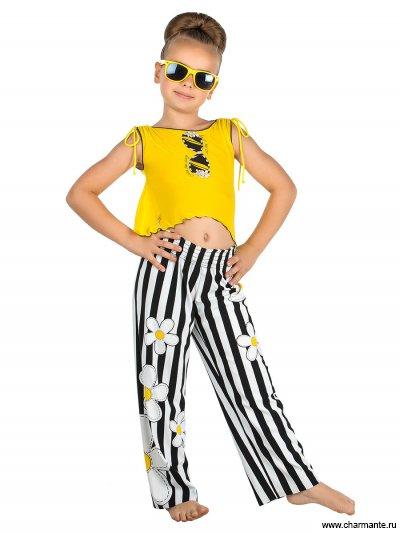 Пляжный комплект для девочек (брюки+топ) GX 011610 AF Chloe от Charmante