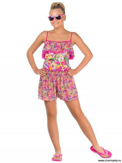 Пляжные шорты для девочек