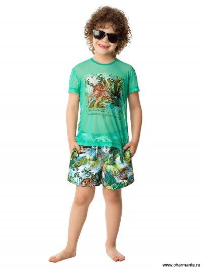Купить Пляжная футболка для мальчиков BF 021613 AF Stive, Charmante, мультиколор