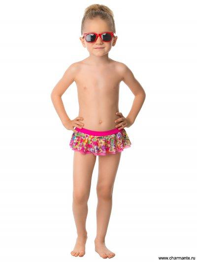 Купить Плавки пляжные для девочек GP 031601 AF Holly, Charmante, мультиколор