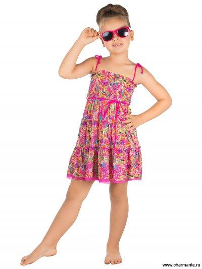 Купить Пляжное платье для девочек GQ 031607 AF Harmony, Charmante, мультиколор