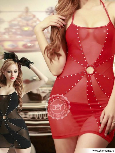 Комплект женский (комбидресс, стринги) мини платье seamless strappy