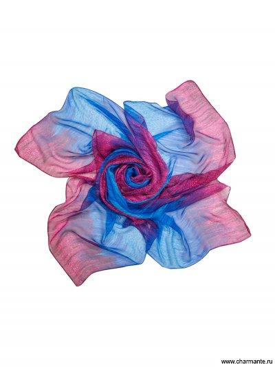Купить Платок женский TISF355, Charmante, фуксия/синий