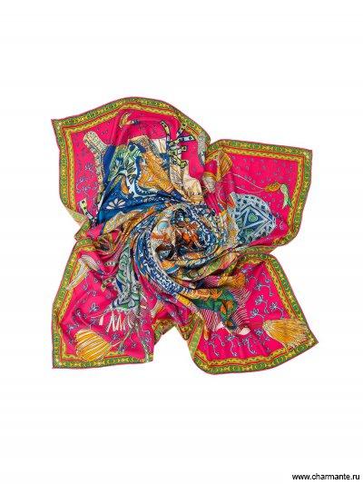 Купить Платок женский SHSA346, Charmante, фуксия