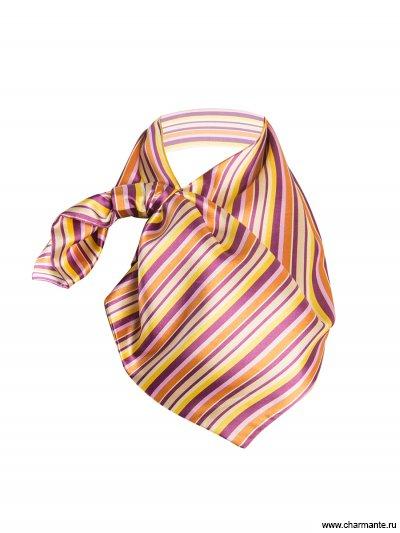 Купить Платок женский FRPA313, Charmante, лилово-желтый