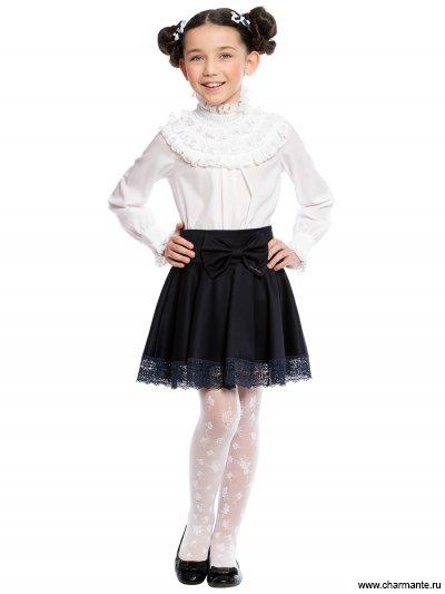 Блузка с длинным рукавом для младшей и средней школы Charmante ASB661612