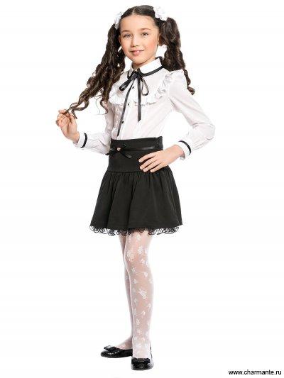 Блузка с длинным рукавом для младшей школы Charmante ASB661604