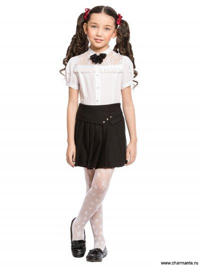 Блузка с коротким рукавом для младшей школы Charmante ASB661603