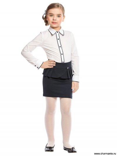 Блузка с длинным рукавом для средней школы Charmante ASB661605