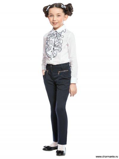 Блузка с длинным рукавом для младшей школы Charmante ASB661606