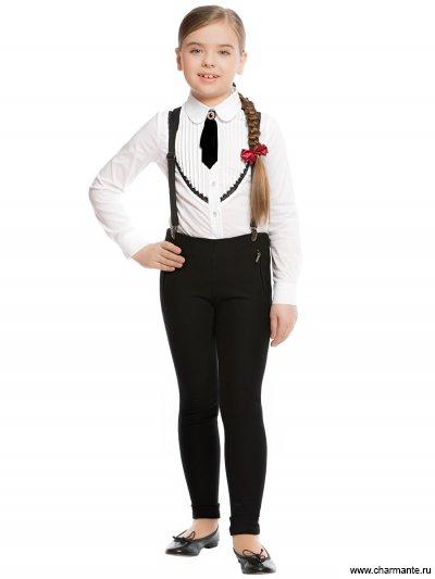 Блузка с длинным рукавом для младшей школы Charmante ASB661607