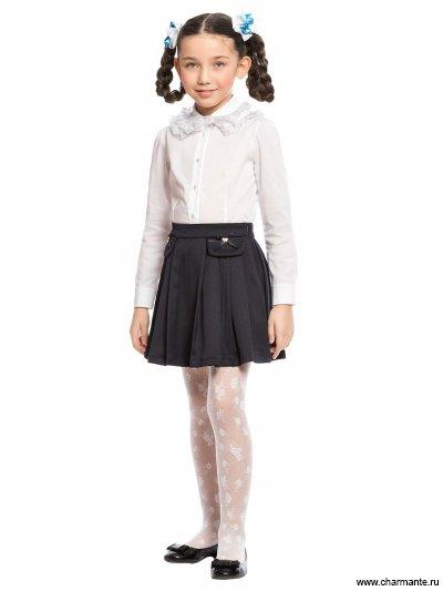 Блузка с длинным рукавом для младшей и средей школы Charmante ASB661609