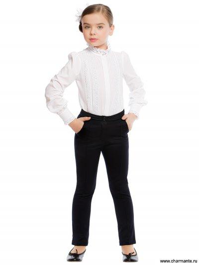 Блузка с длинным рукавом для младшей и средней школы Charmante ASB661611