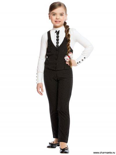 Костюм для средней школы: жилет+брюки Charmante ASCG771601