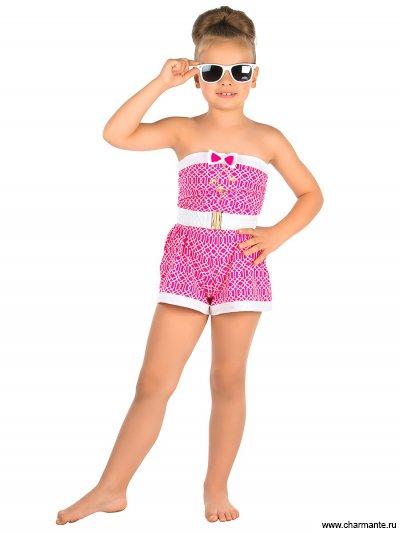 Купить Пляжный комбинезон для девочек GO 041612 AF Tonny, Charmante, розовый